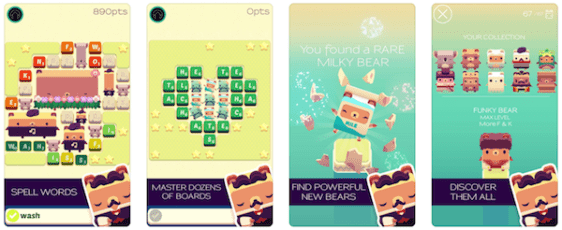 Alphabear - top Word Game Apps 2020