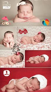 Baby Story Camera - baby photo frames app