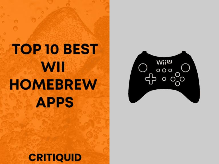 Best Wii homebrew apps