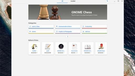 Gnome - best linux apps for chromebook
