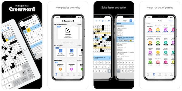 New York Times Crossword - top Word Game App
