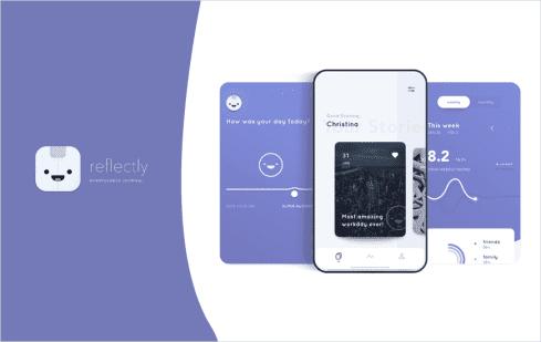 Reflectly - best baby sleep app iphone 2020