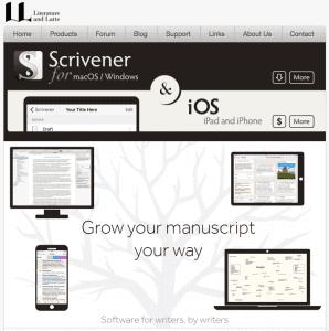 Scrivener - top writing software