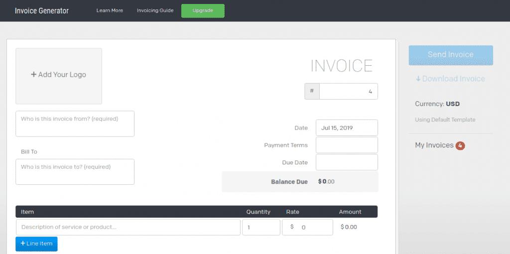 Invoice Generator fake walmart receipt generator