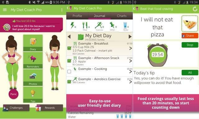 Top calorie Tracker app