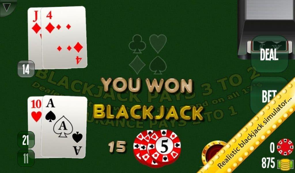 best android blackjack