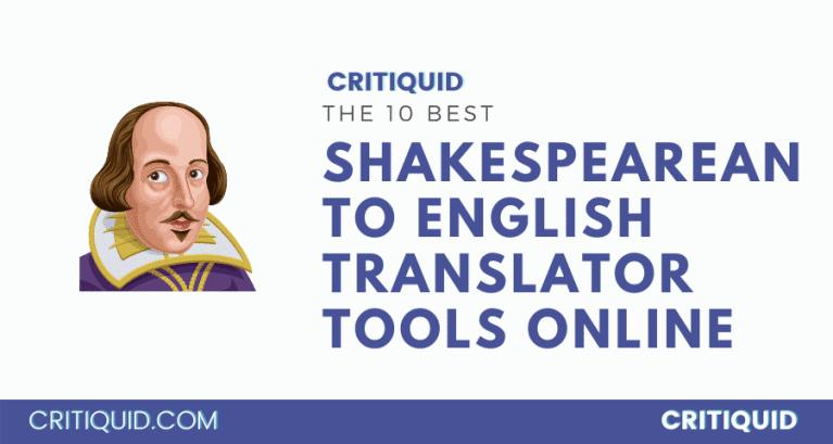 Shakespeare to English translator