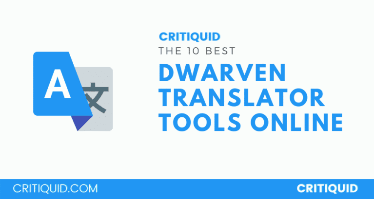 dwarven translators