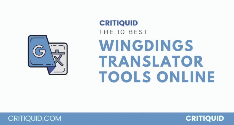 WINGDINGS TRANSLATOR