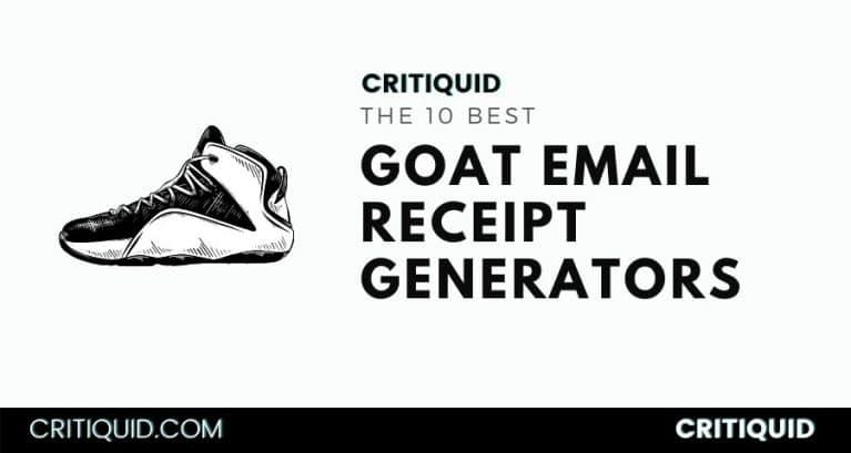 Goat Receipt Generator