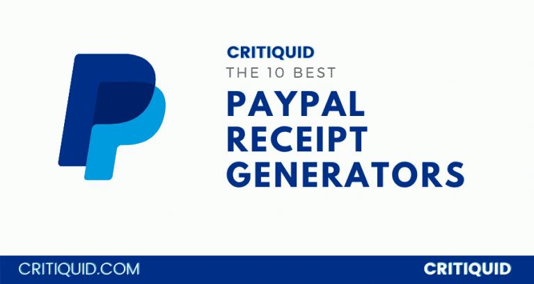 PayPal Receipt Generator